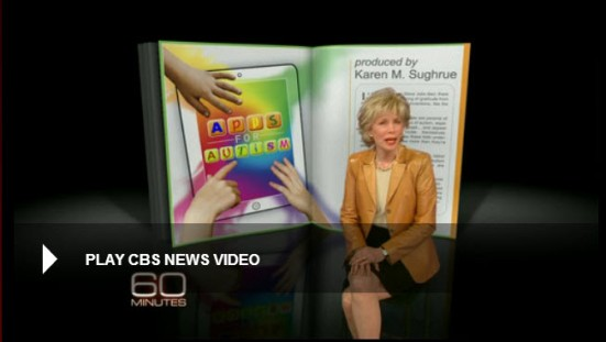 Autistic people whose condition prevents them from speaking are making breakthroughs with the help of tablet computers and special applications that allow them to communicate, some for the first time. Lesley Stahl reports.