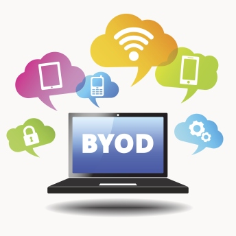 Byod Web Mobile Device Concept