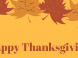 Happy Thanksgiving from DSC